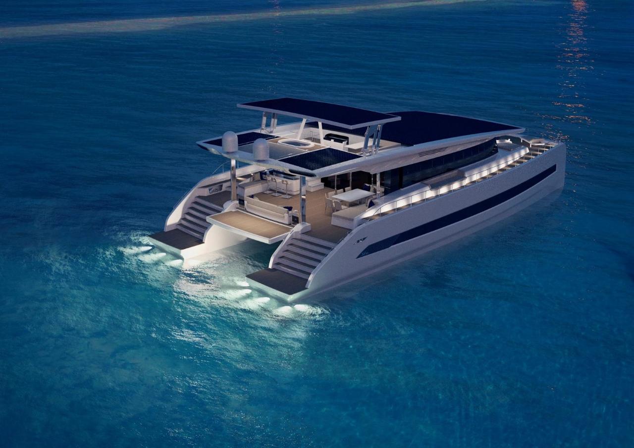 Catamarán eléctrico Silent-Yechts/Foto: Silent-Yechts
