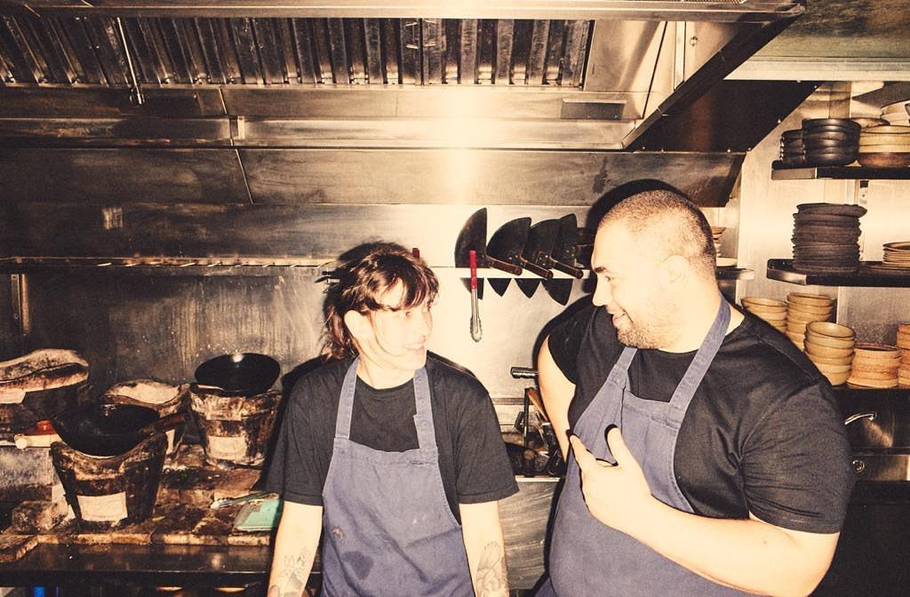 Algunos de los chefs de Kiln