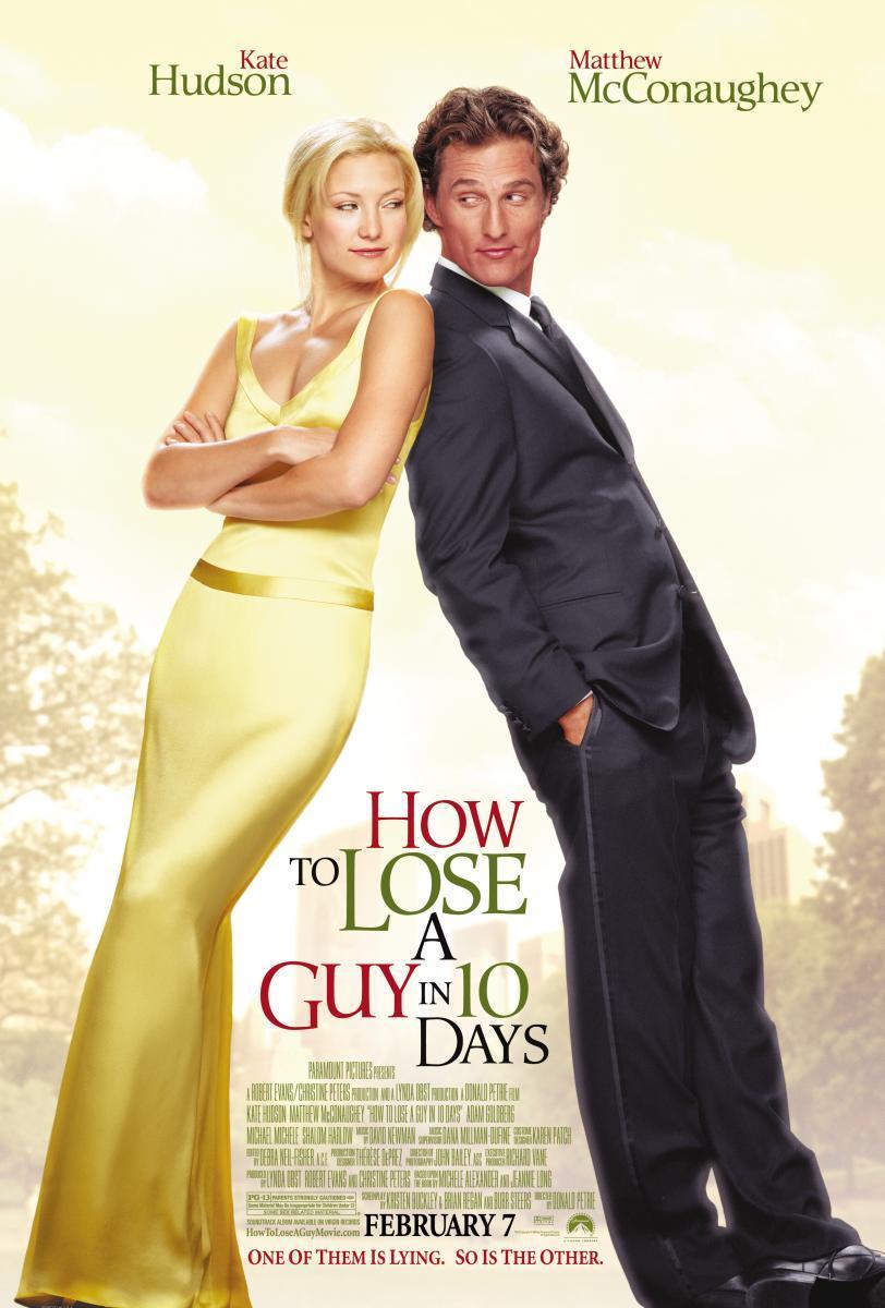 Cartel de la película Cómo perder a un chico en diez días