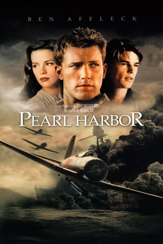 Cartel de la película de Pearl Harbor