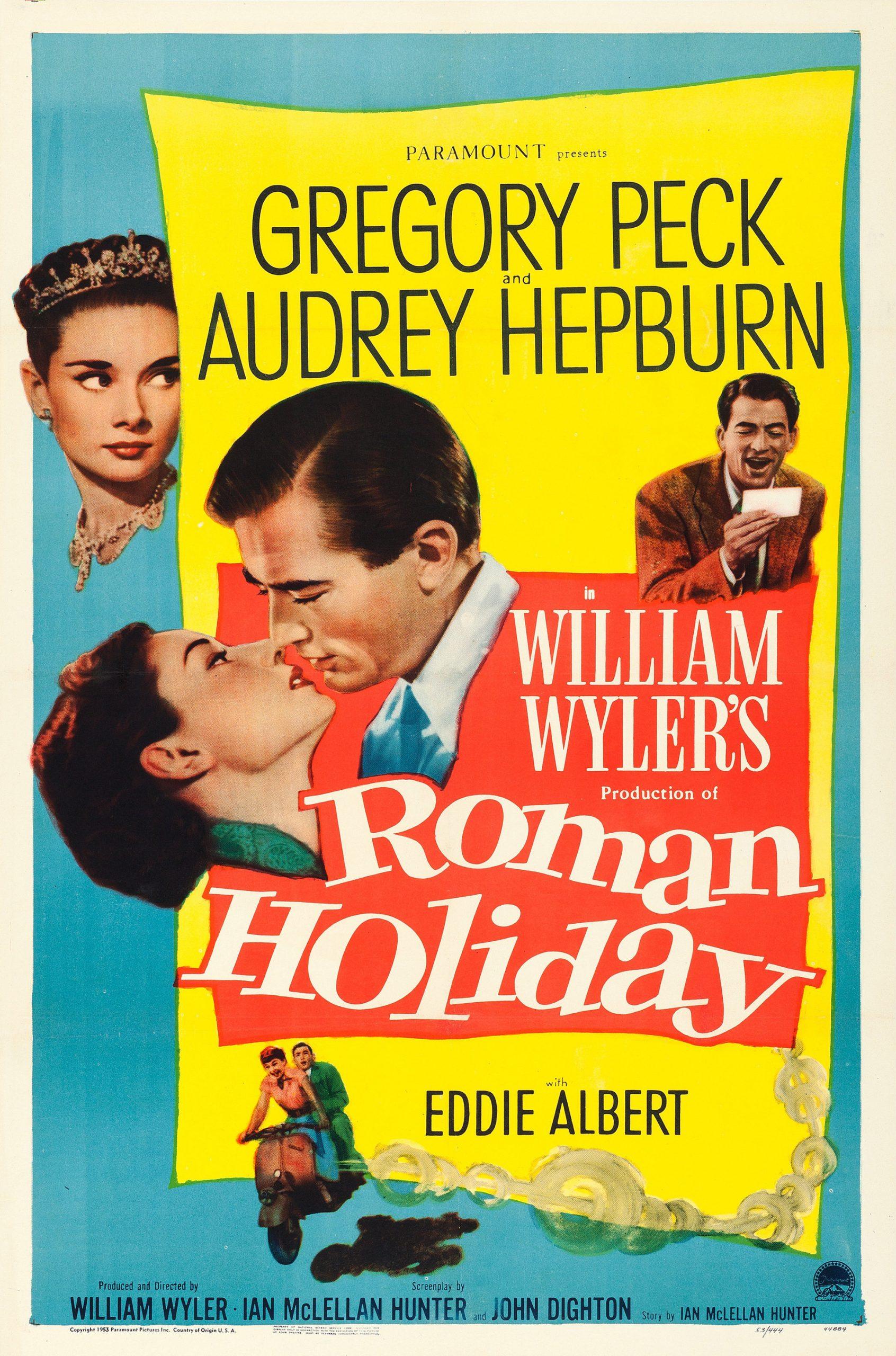 Cartel de la película de Vacaciones en Roma