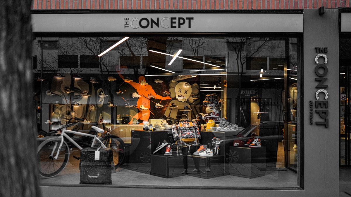 The Concept': la tienda de zapatillas más exclusiva de España