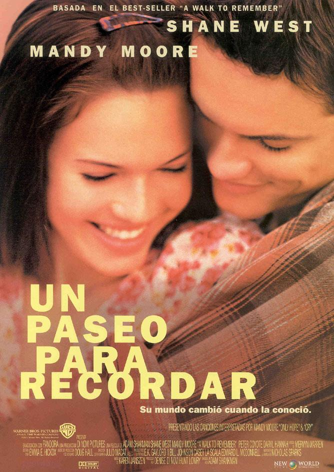 Cartel de la película Un paseo para recordar