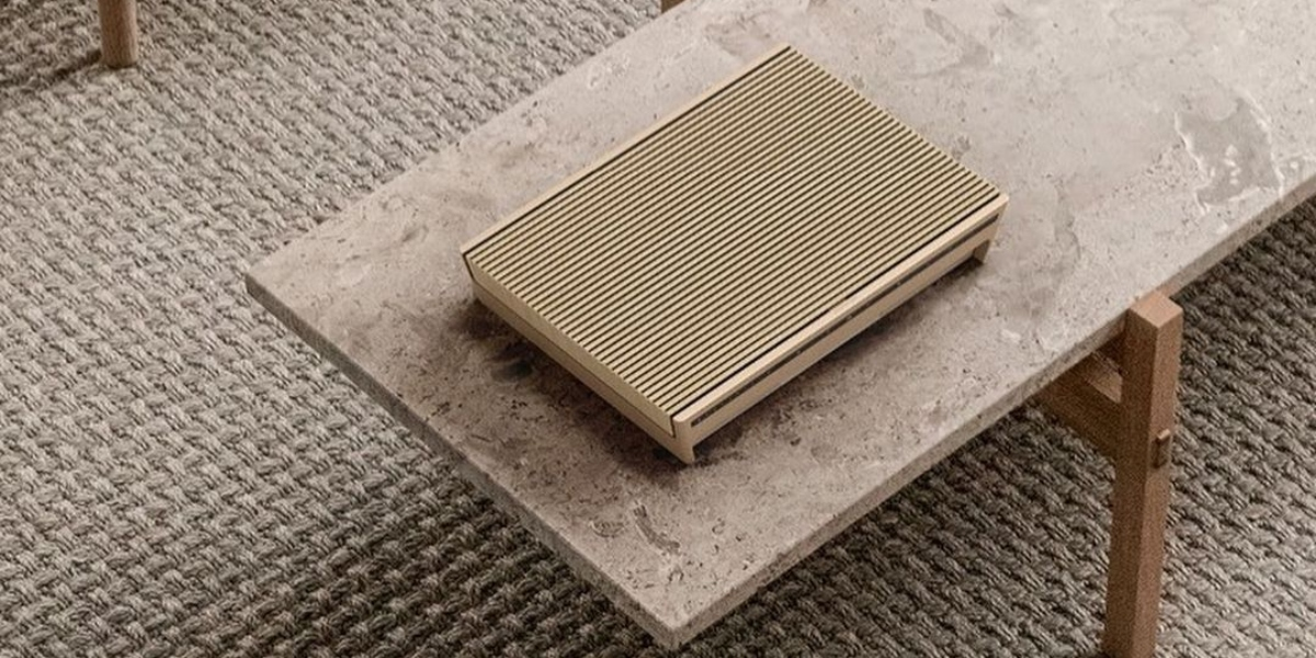 Altavoces Beosound Level de Bang and Olufsen.