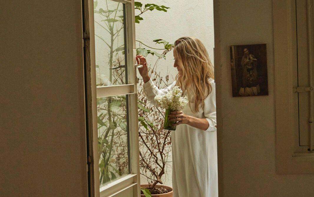 Cristina Ruiz Montesinos en su casa / Foto: Pipi Hormaechea