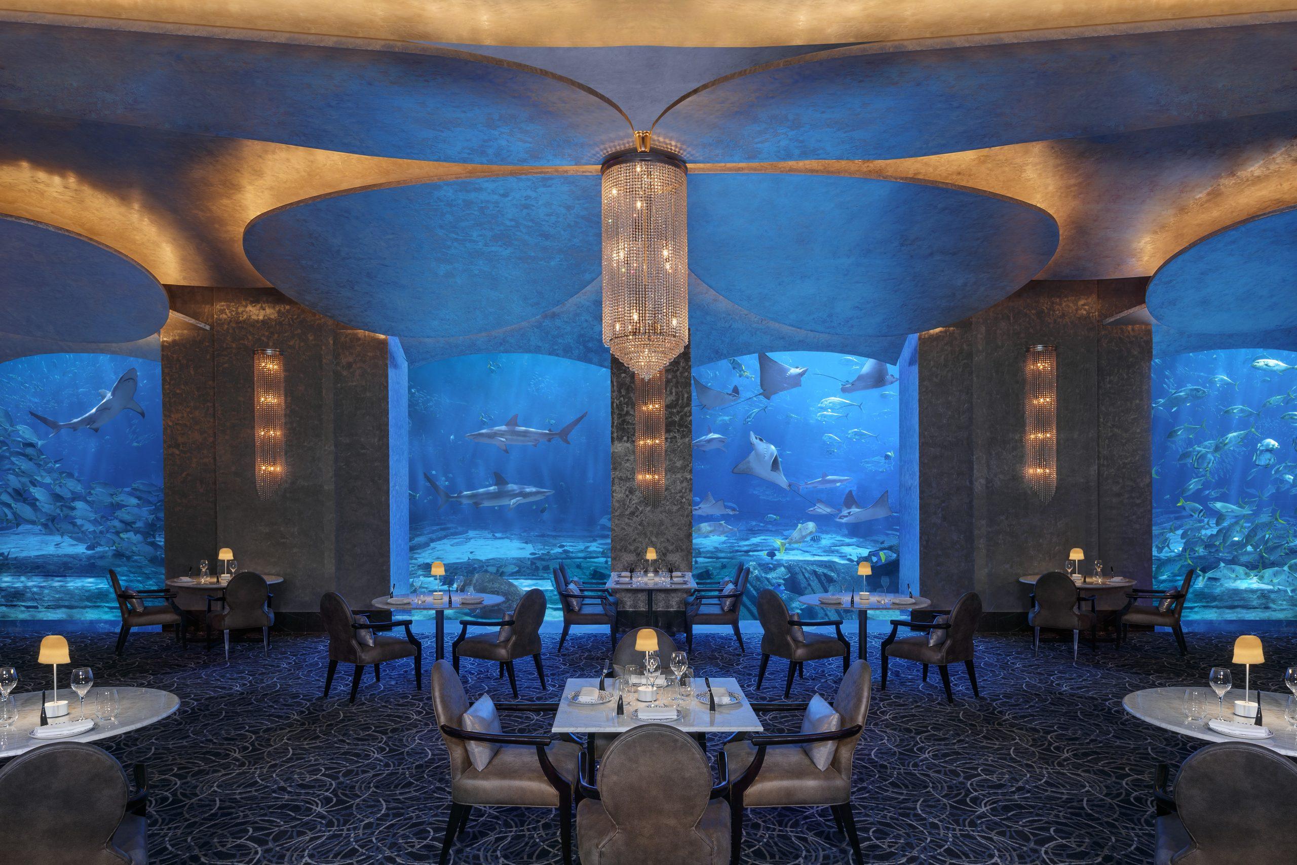 Restaurante Ossiano en Dubái