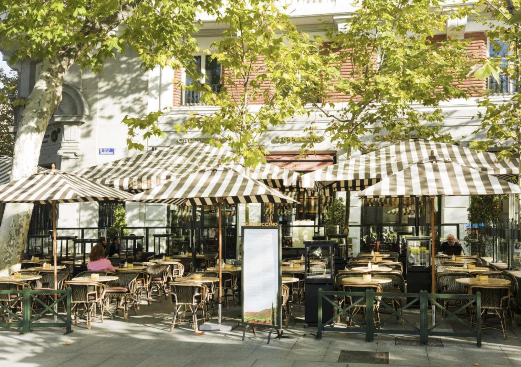 Terraza del Capuccino Grand Café