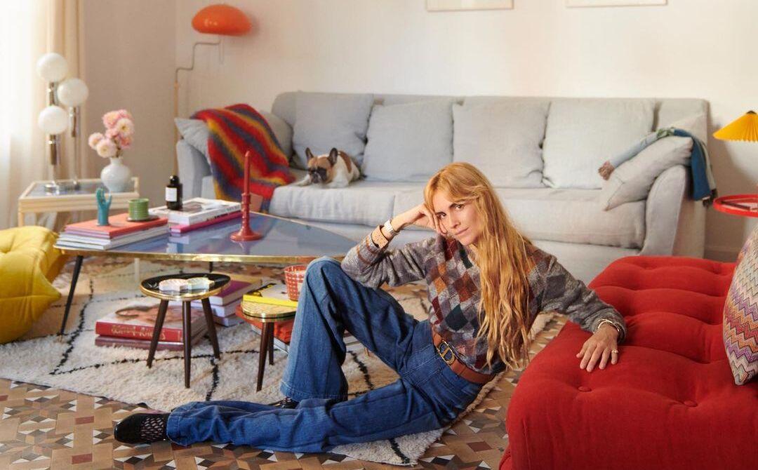 Blanca Miró en su casa / Foto @blancamiro