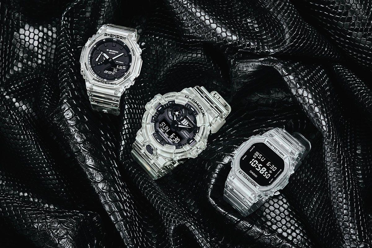 G-SHOCK 'Transparent Pack'