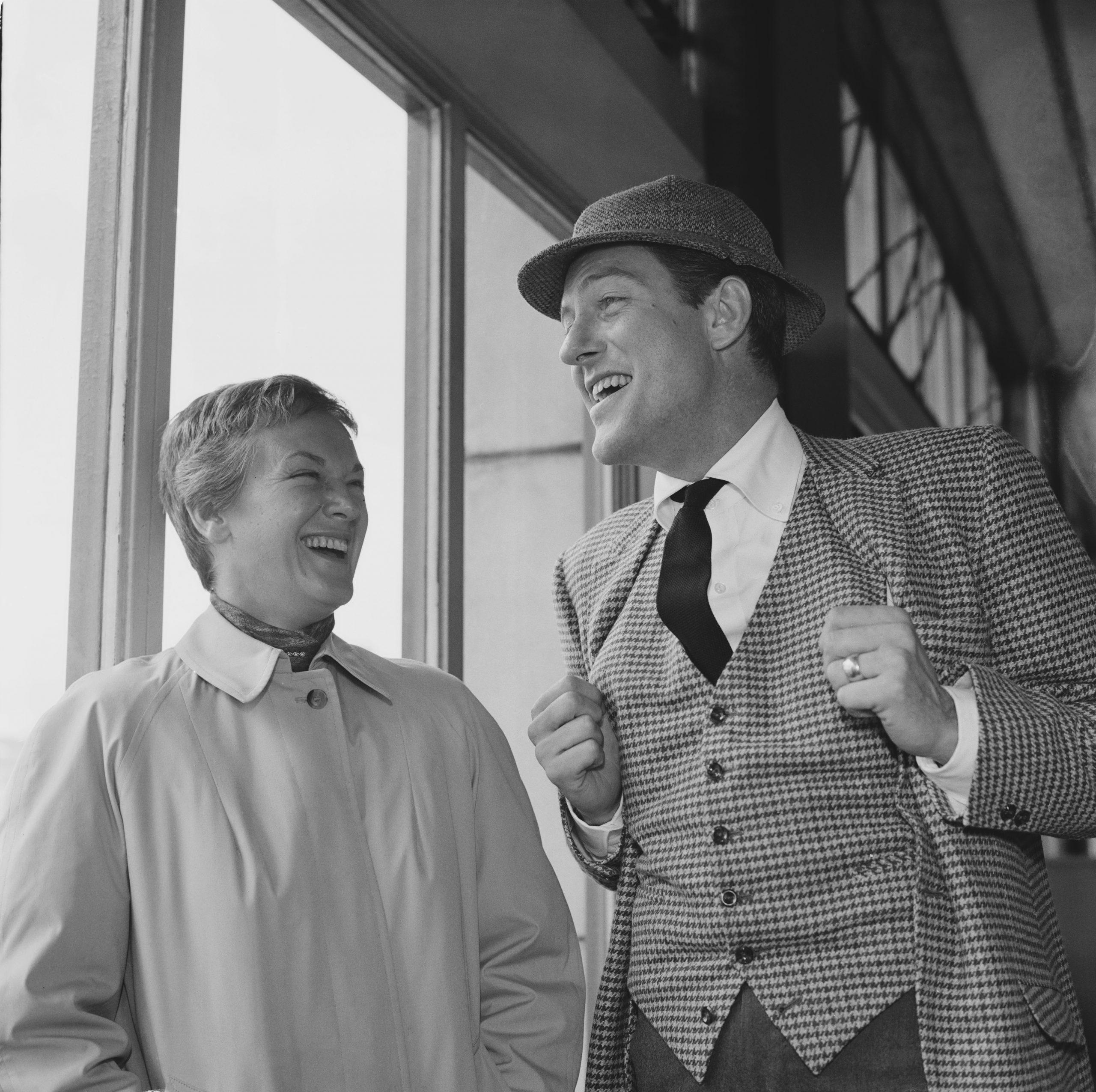 Dick Van Dyke y Margie Willett
