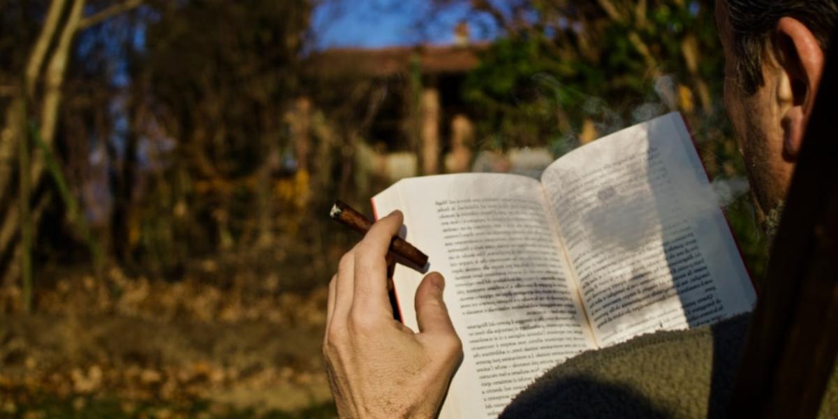 Libros para hombre. /Foto: Unsplash