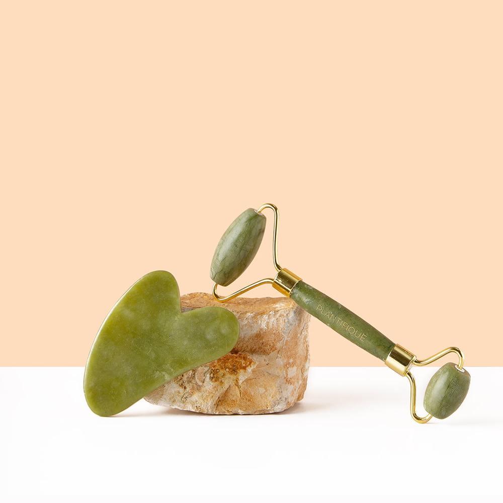 Rodillo de jade Plantifique