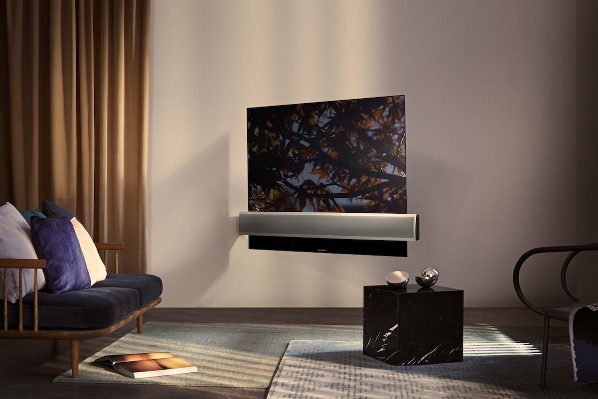 El televisor BeoVision Eclipse de Bang & Olufsen