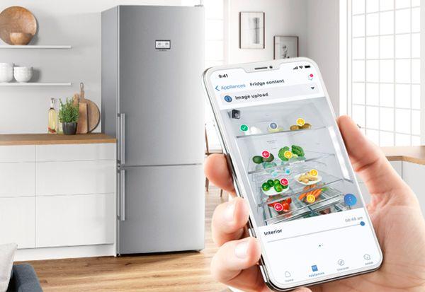 Controlar el frigorífico en remoto con Home Connect/Foto: Bosch