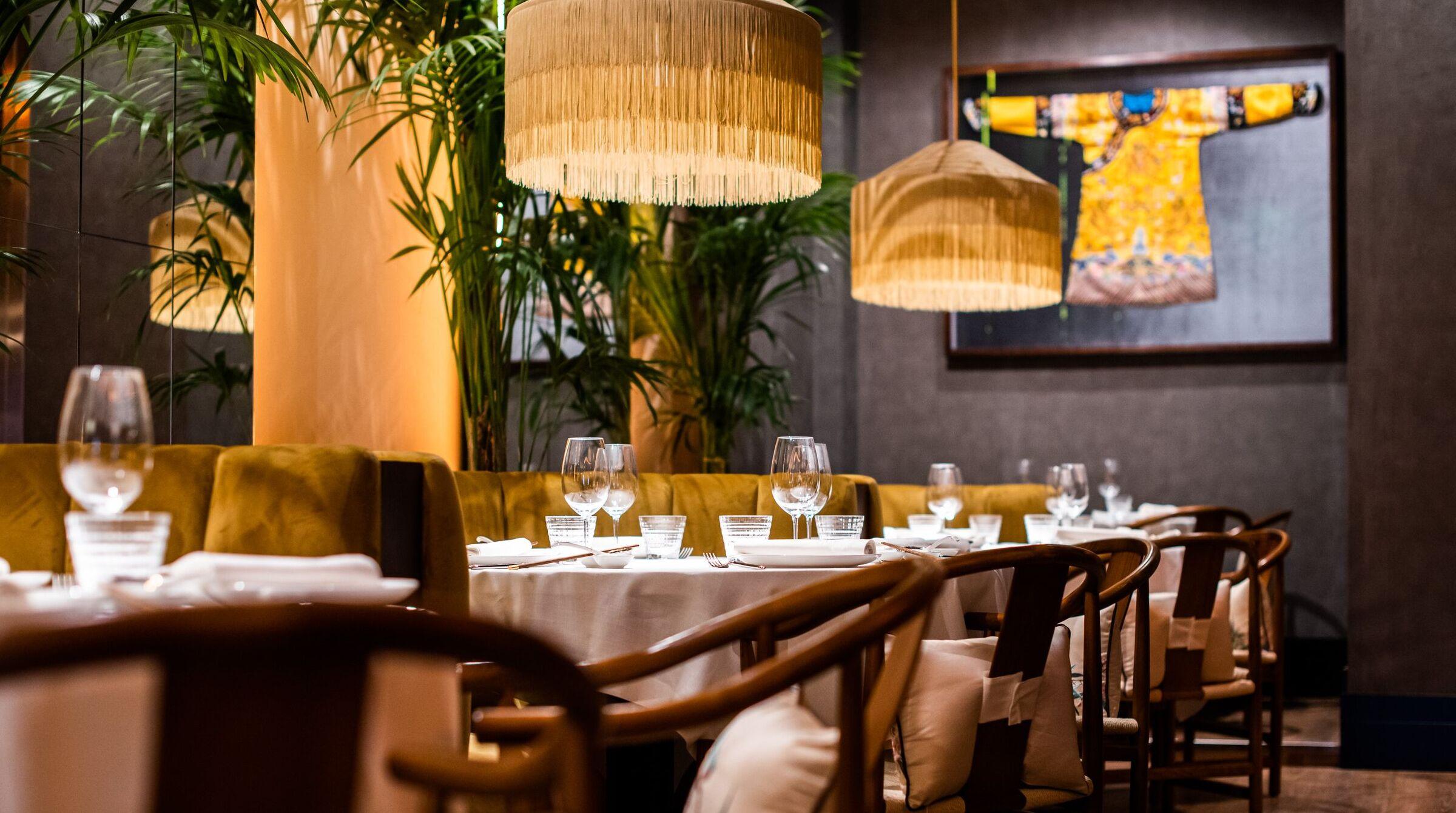 Interior del restaurante China Crown / Foto: China Crown
