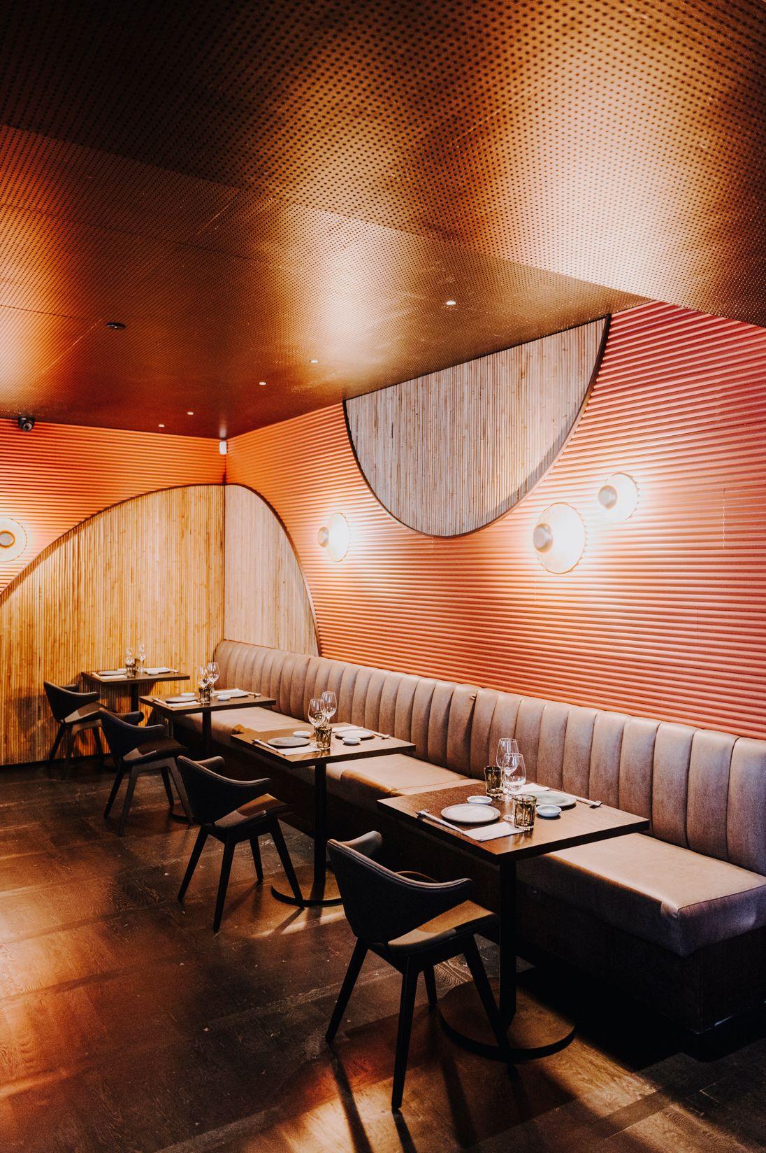 Interior del restaurante Nomo Braganza / Foto: Nomo Braganza