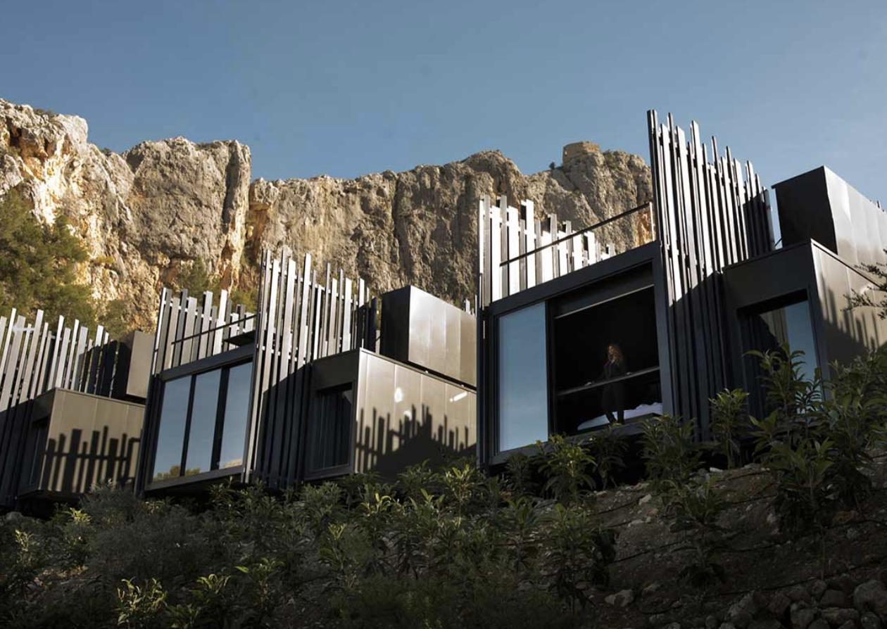 Vista de las villas de Vivood Landscape Hotel / Foto: Vivood Landscape Hotel