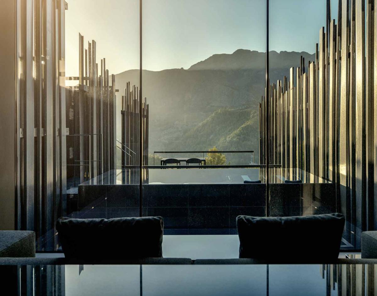 Vistas desde una de las villas / Foto: Vivood Landscape Hotel