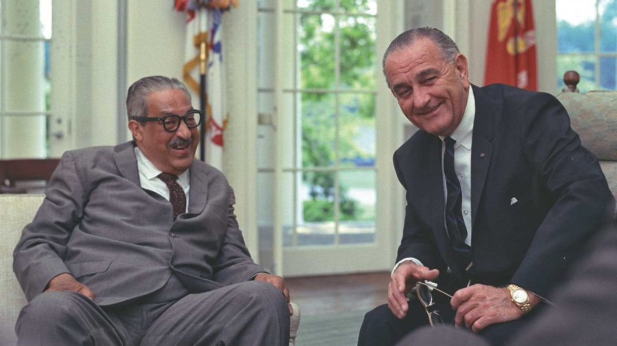 El presidente Lyndon B Johnson con su Rolex Day Date ref 6611