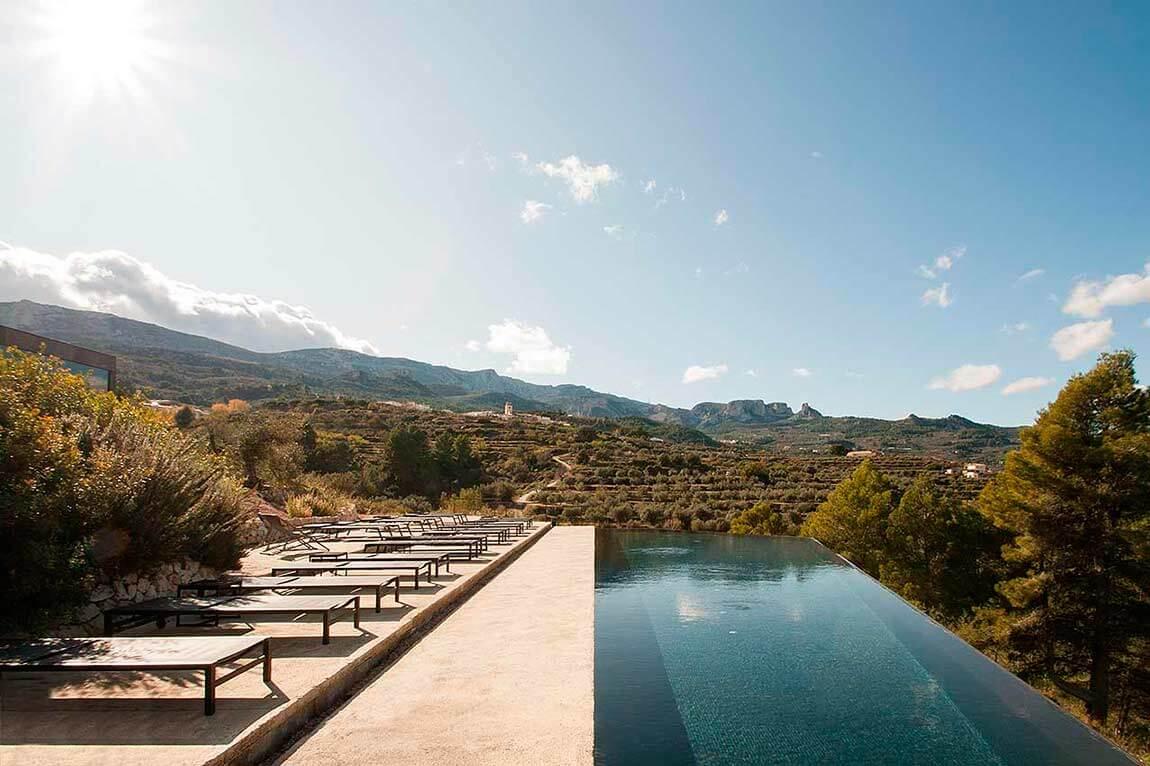 Una de las piscinas panorámicas / Foto: Vivood Landscape Hotel