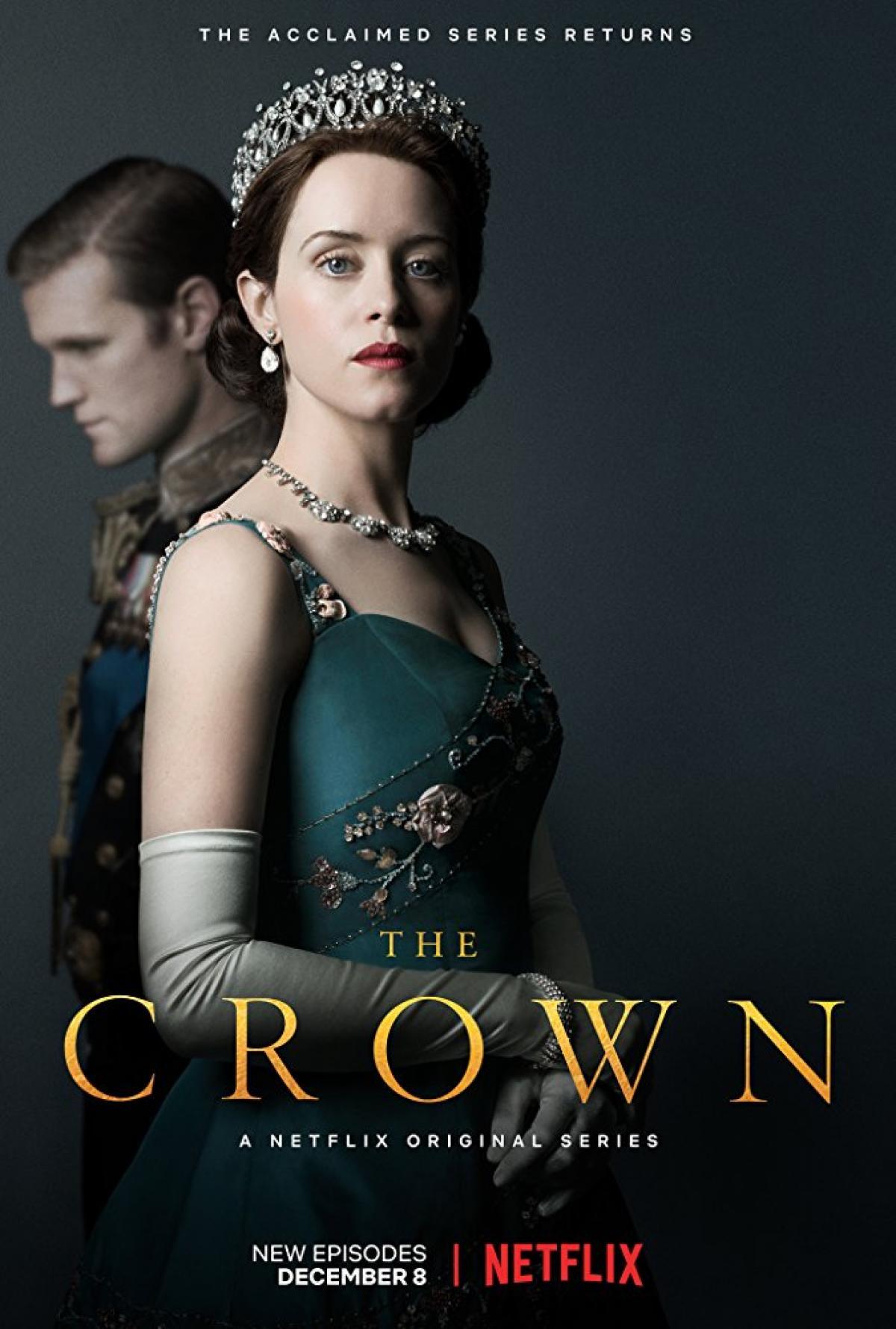 Cartel de la primera temporada de 'The Crown'