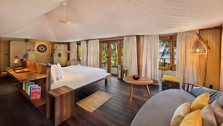 Interior de una de las suites / Foto: Kasiiya Papagayo