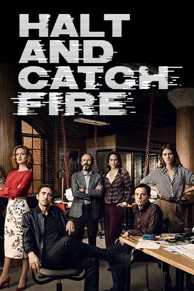 Cartel de la serie 'Halt and Catch Fire'