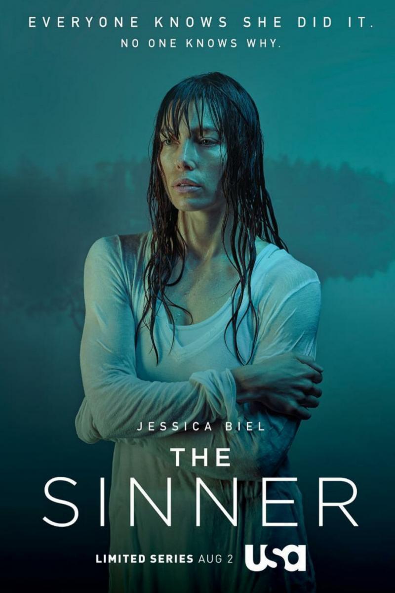 Cartel de la primera temporada de The Sinner