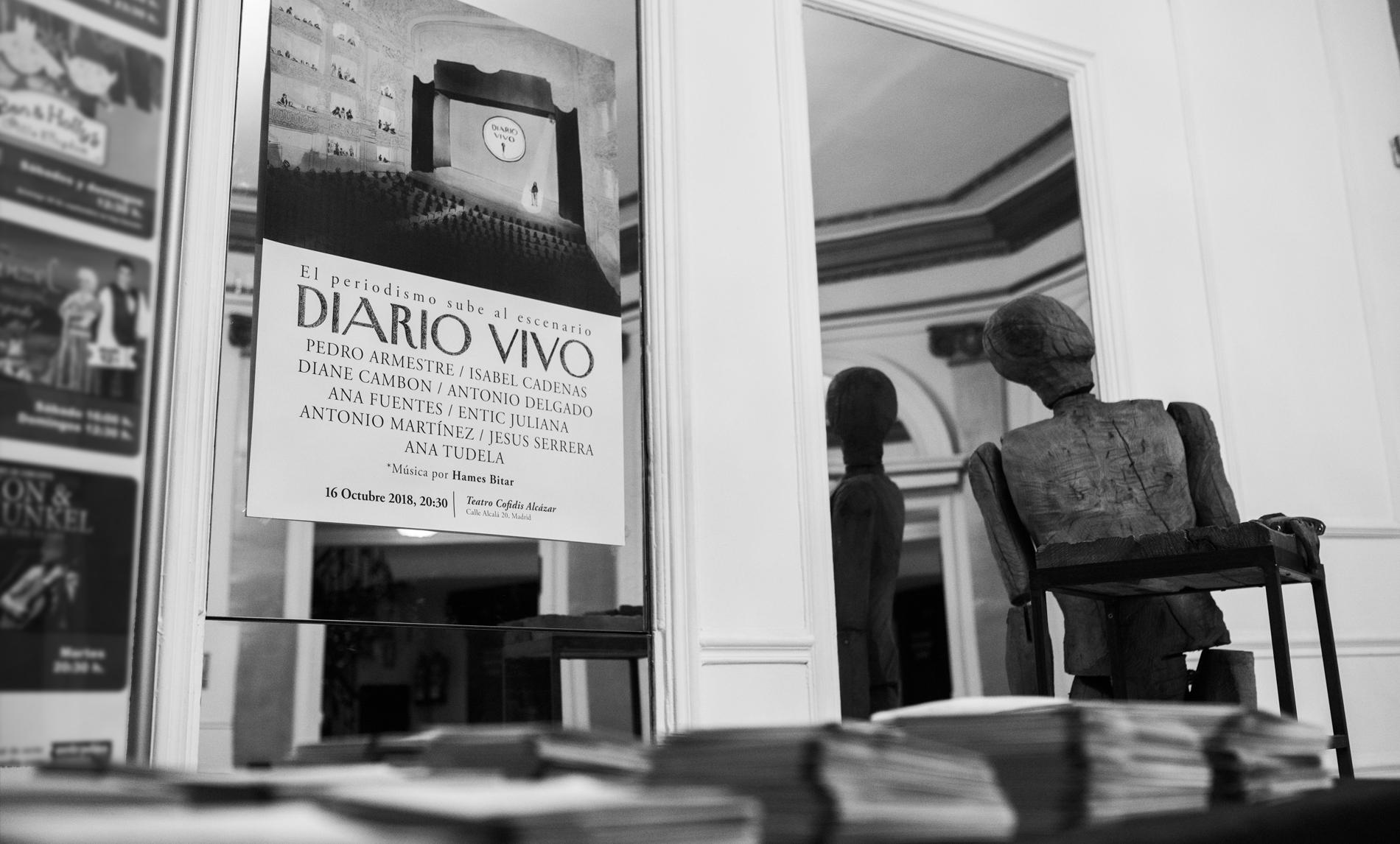 Cartel de la taquilla de Diario Vivo / Foto: Diario Vivo