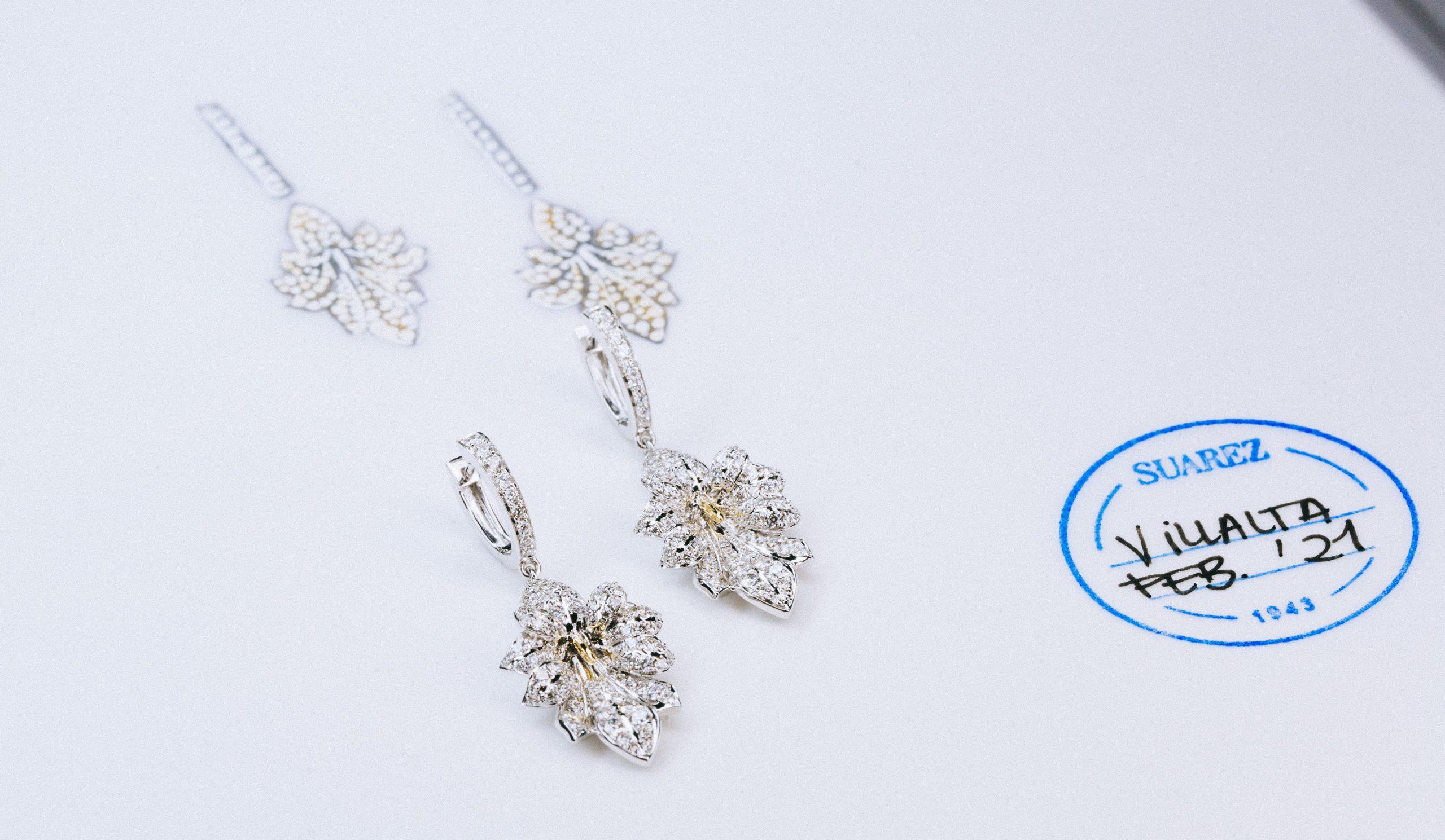 Una de las joyas diseñadas por Guillermo Pérez Villalta y Suarez / Foto: Suarez