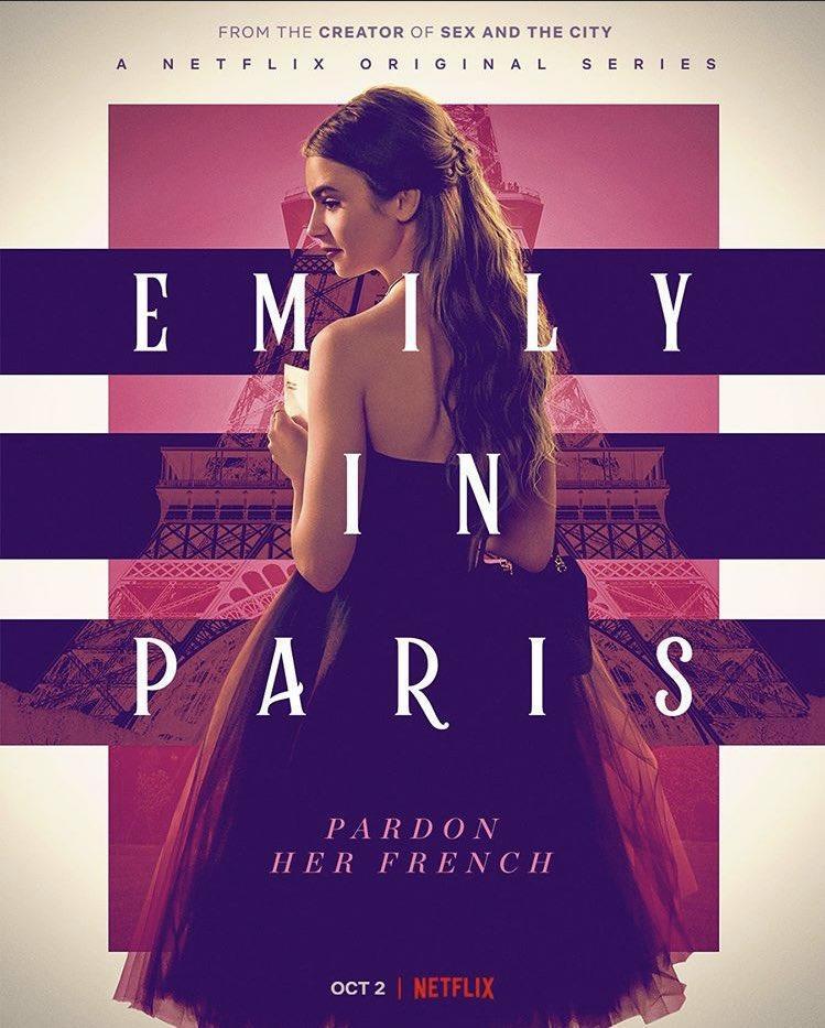 Cartel de la serie 'Emily in Paris' / Foto: Netflix