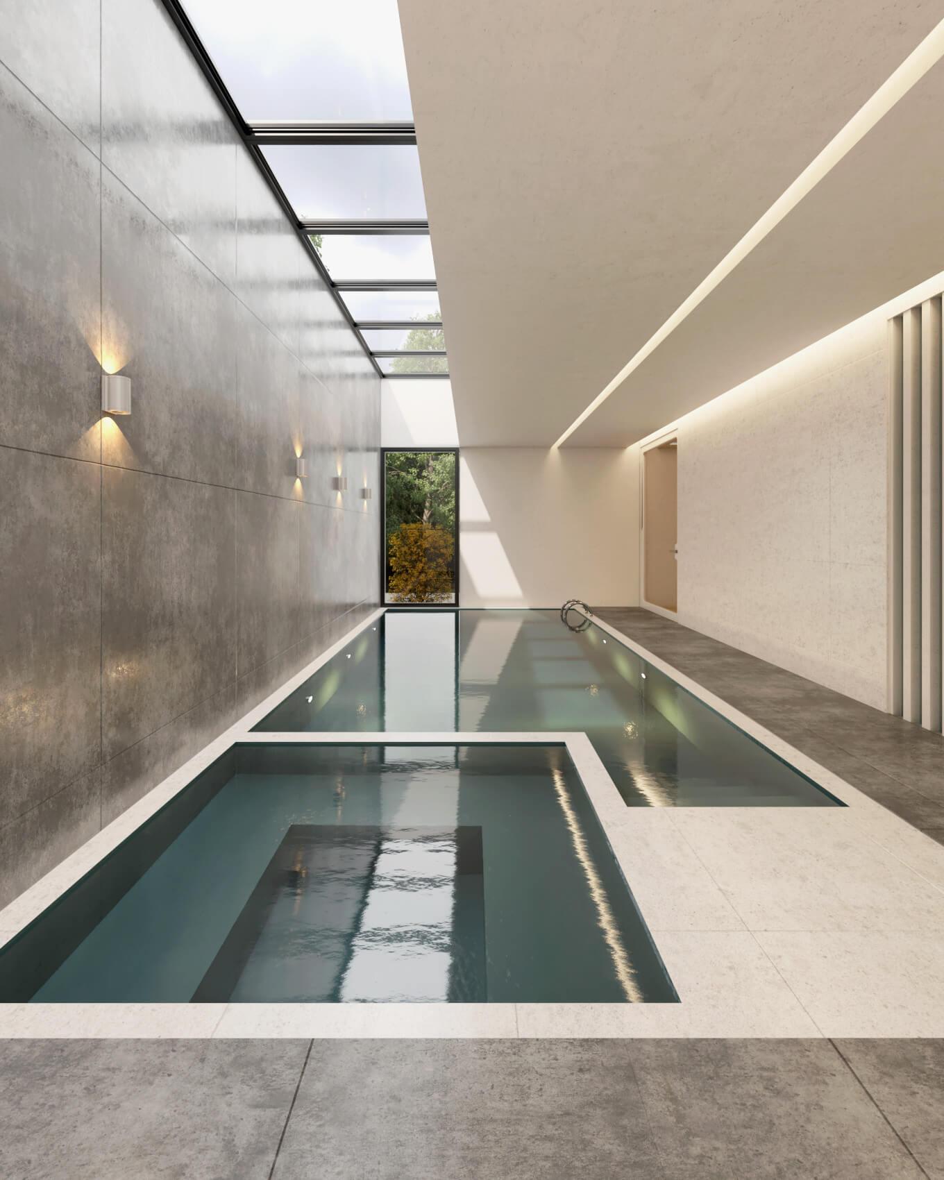 Interior de una vivienda diseñada por Reza Motahsami