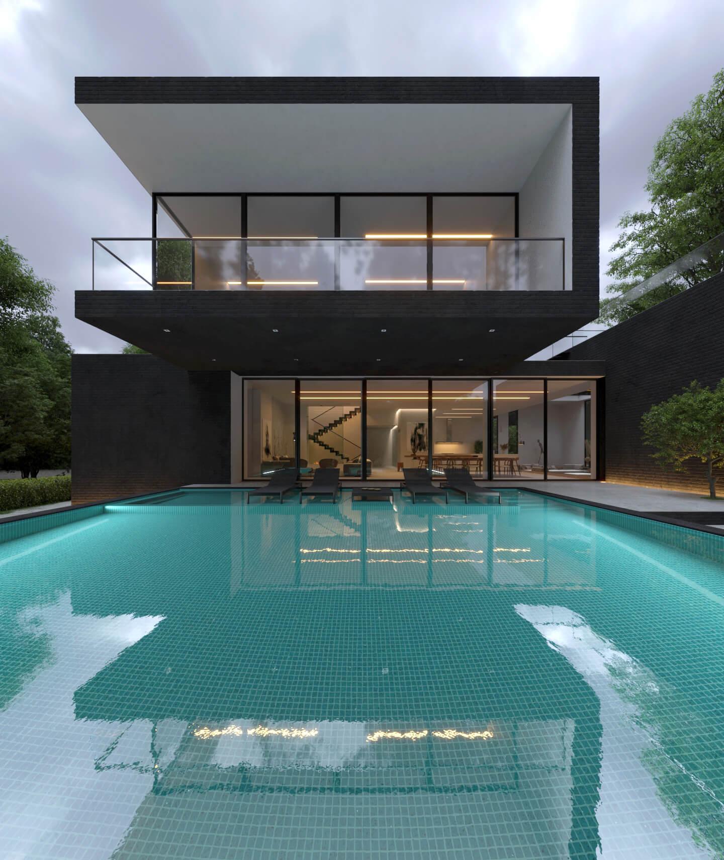Black Brick Villa/ Foto: Reza Motashami