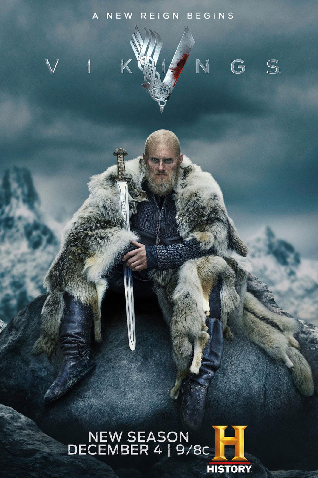 Cartel de la serie Vikings