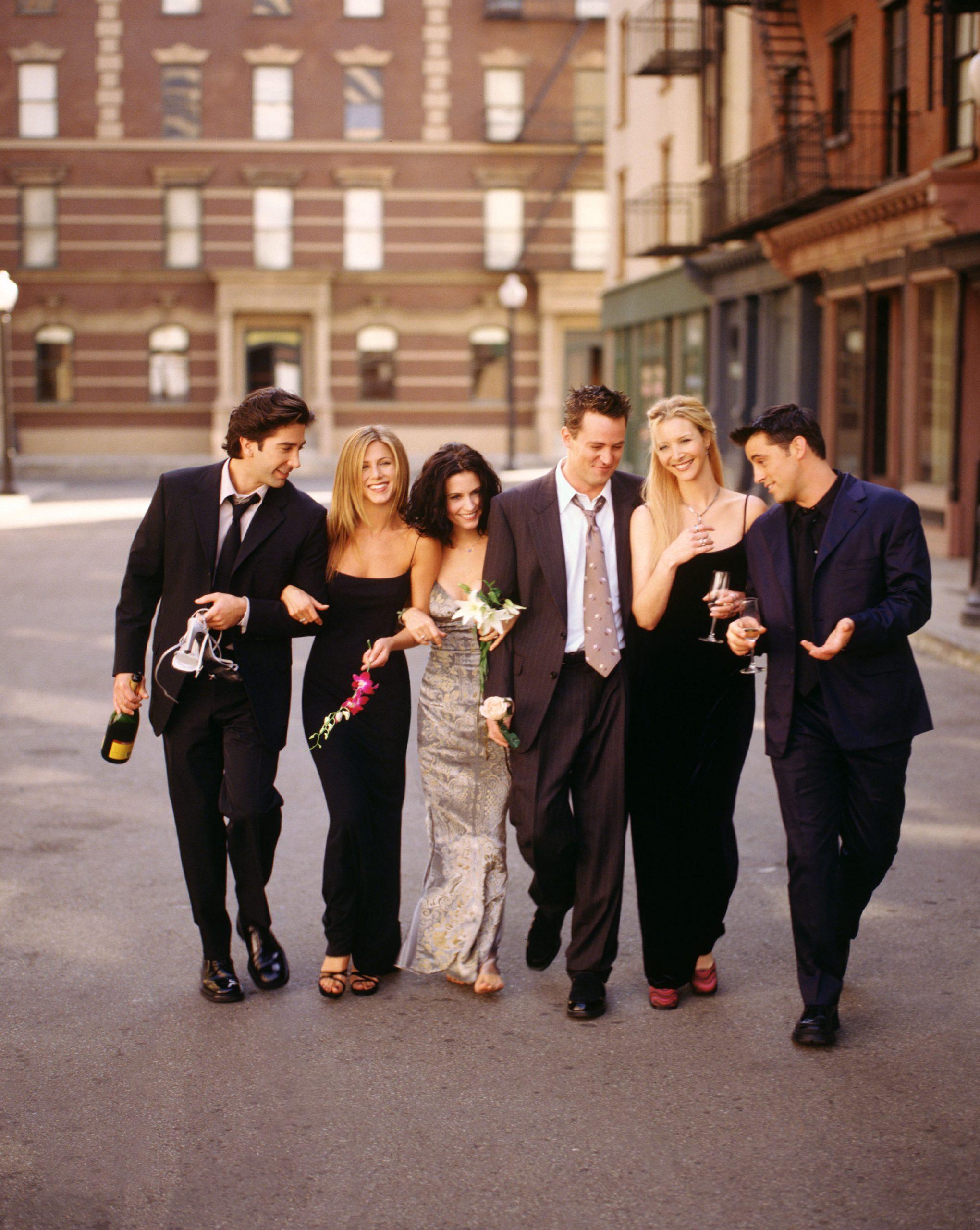 Los protagonistas de Friends en los 90/Foto: Getty Images