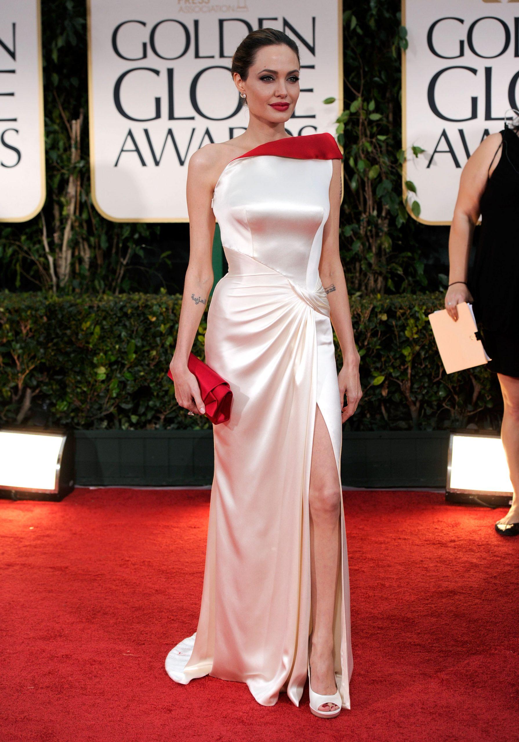 Angelina Jolie en los Globos de Oro / Foto: Getty Images