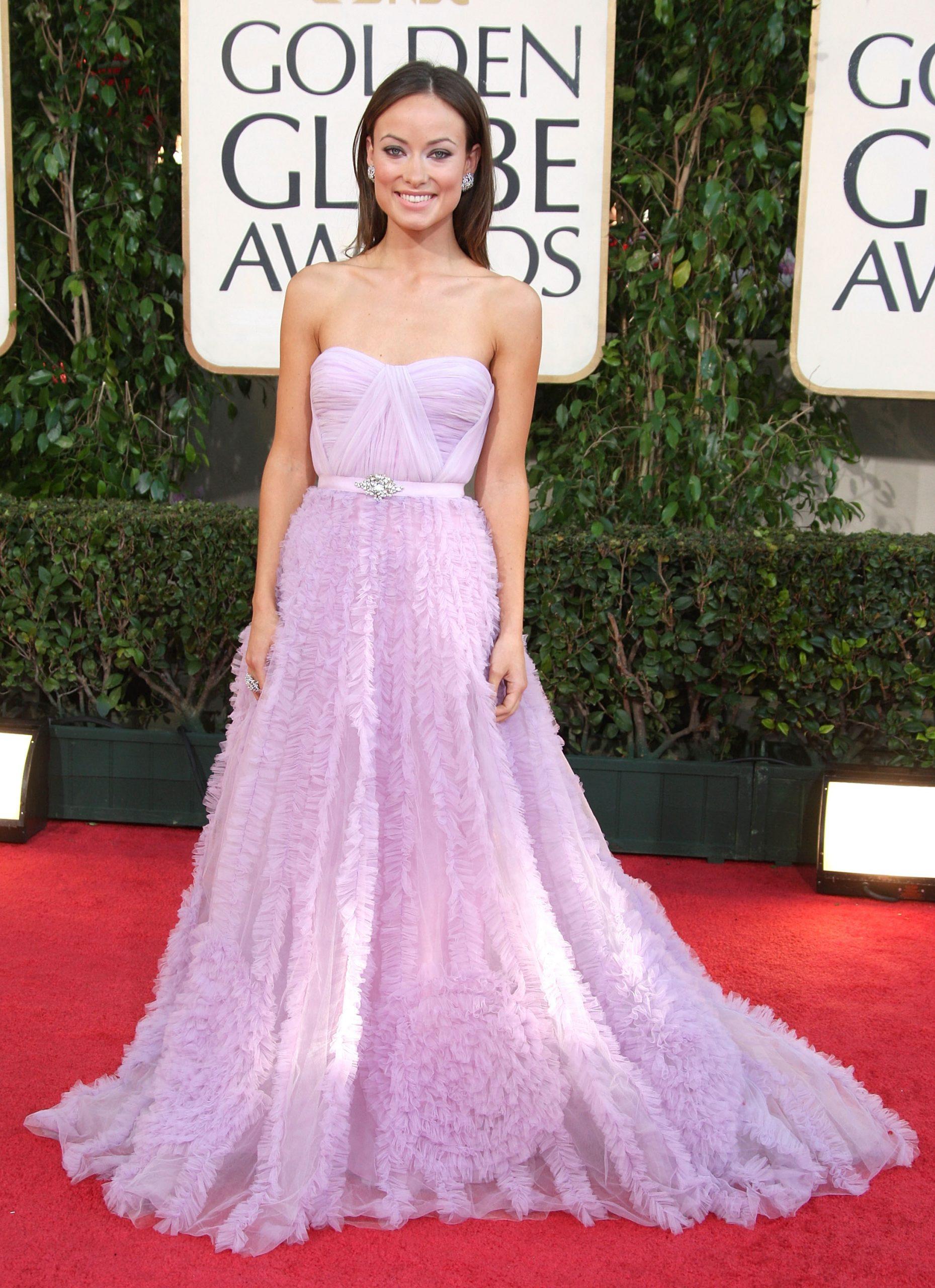 Olivia Wilde en los Globos de Oro / Foto: Getty Images