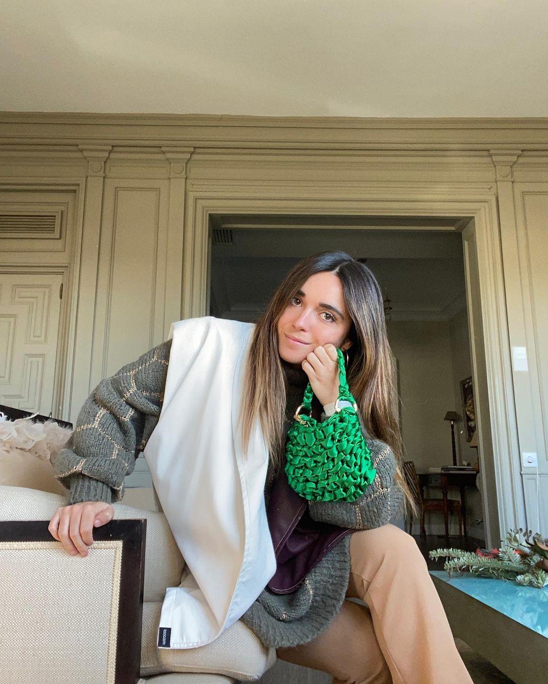 Inés con chaleco de Laagam / Foto: @ines_arroyo