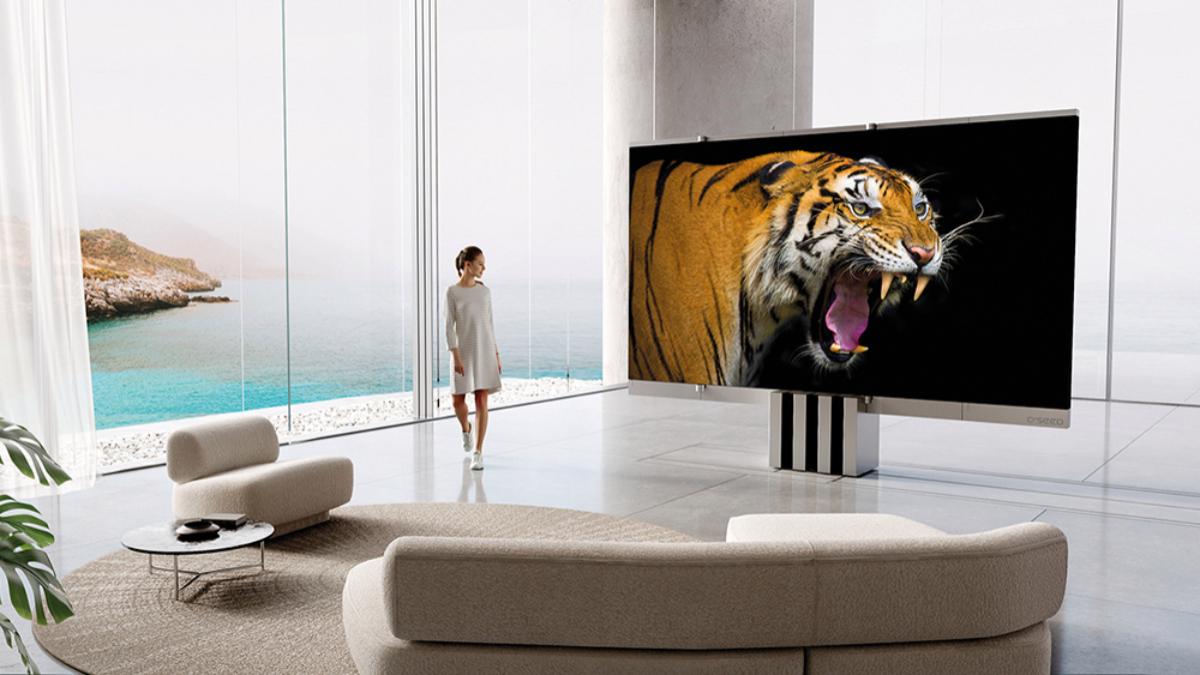 La televisión M1 Foto: Cseed