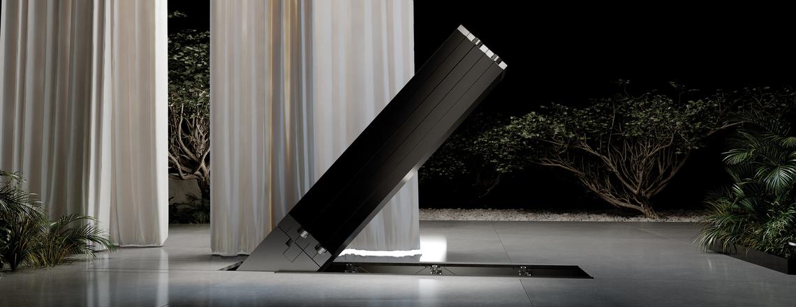C SEED M1, la impactante televisión plegable de 165 pulgadas