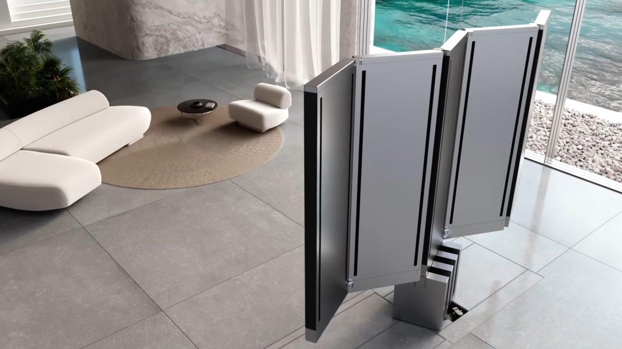 La tv desplegable M1/Foto: C SEED