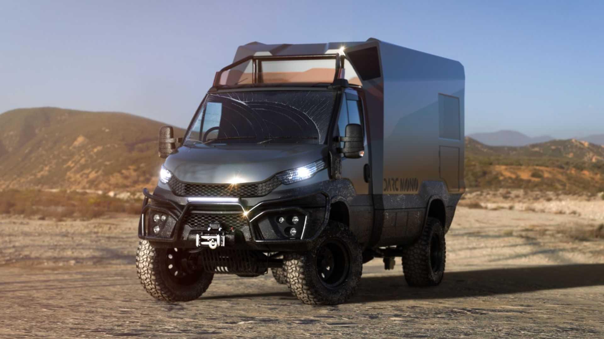 Darc Mono, la caravana todoterreno con interior de diseño nórdico