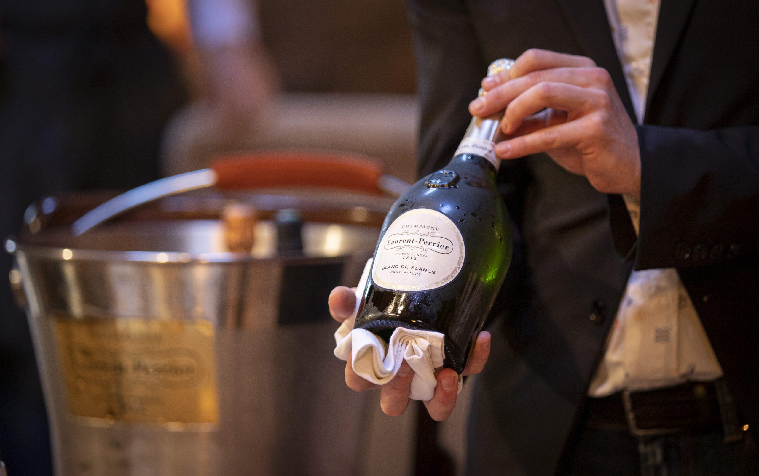 Una de las botella de Laurent-Perrier / Foto: Estimar