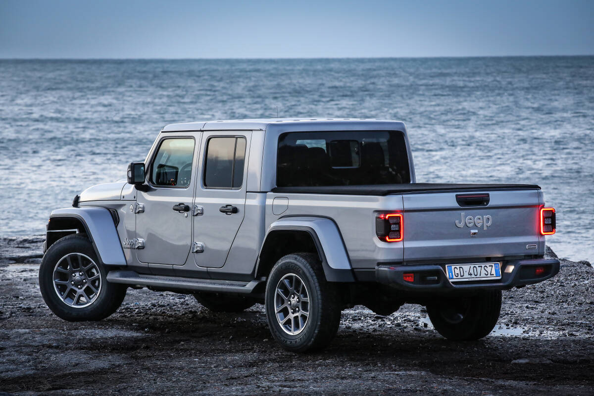 Jeep Gladiator. / Foto: Jeep