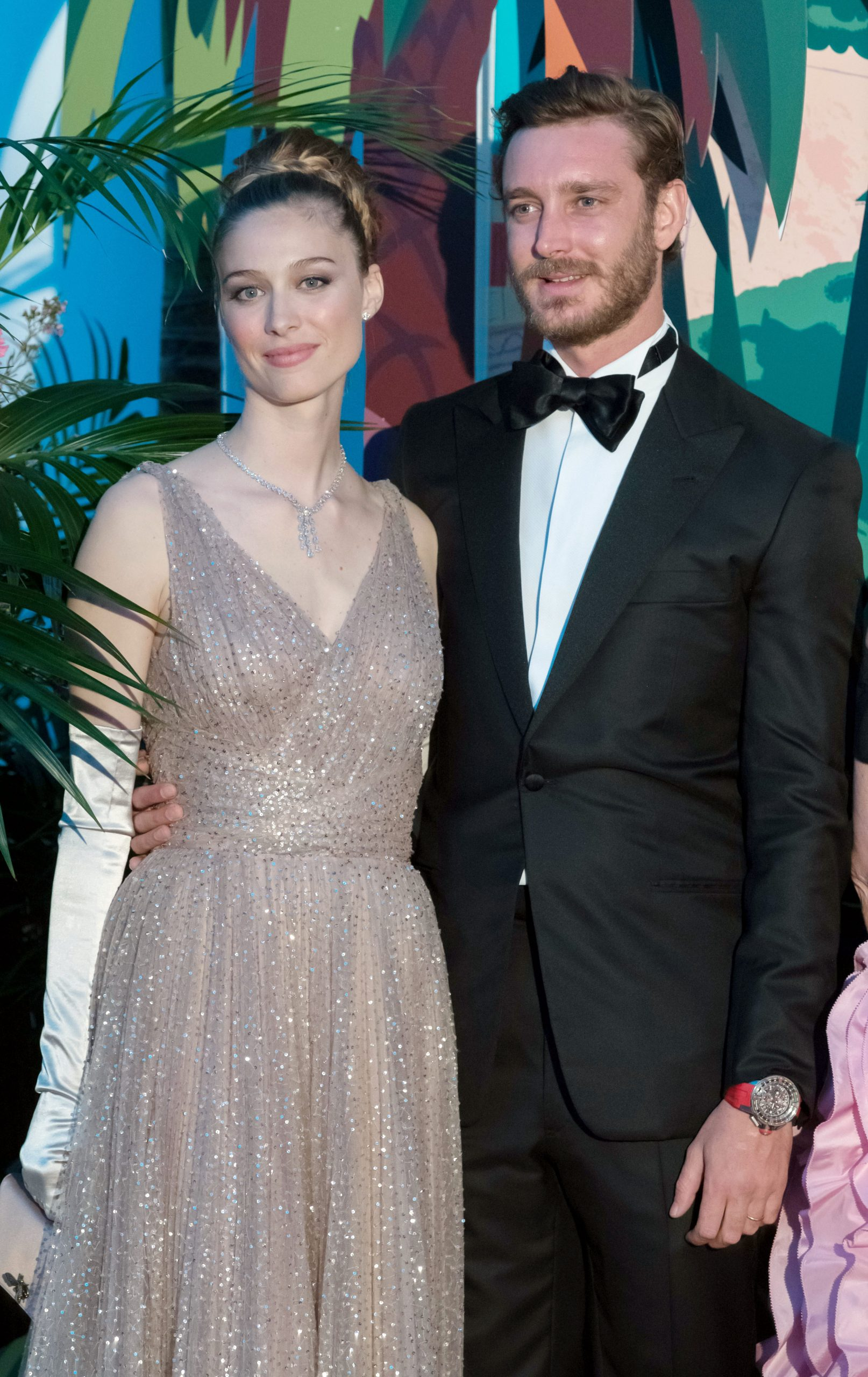 Beatrice Borromeo junto a Pierre Casiraghi/Foto: Getty Images