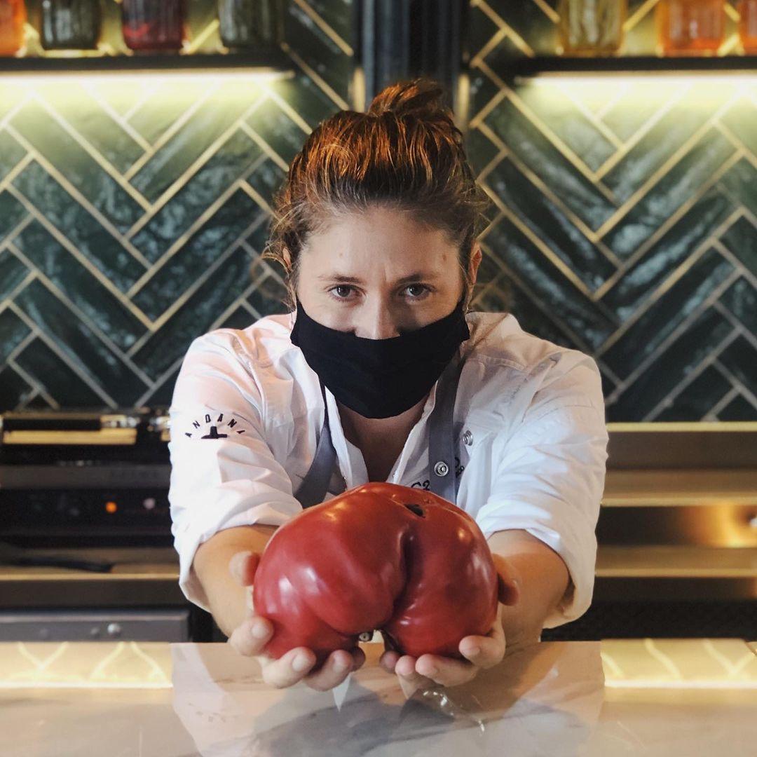 La chef Maca de Castro / Foto: @andanapalma