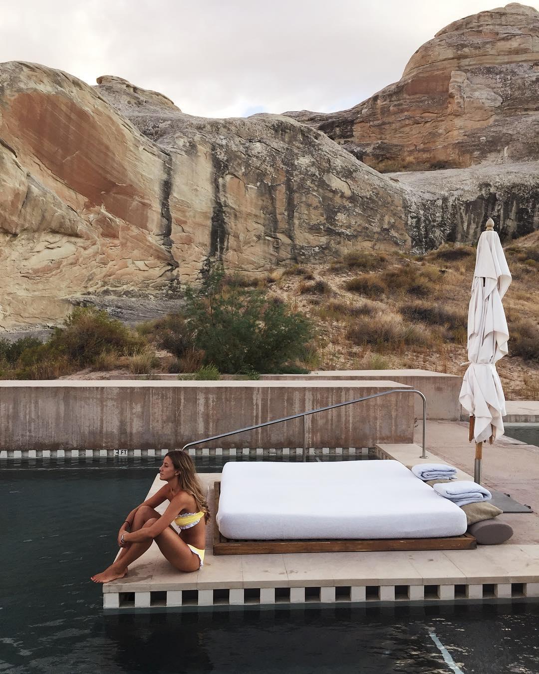 Hotel Amangiri en Utah / Foto: @sofiaparamio