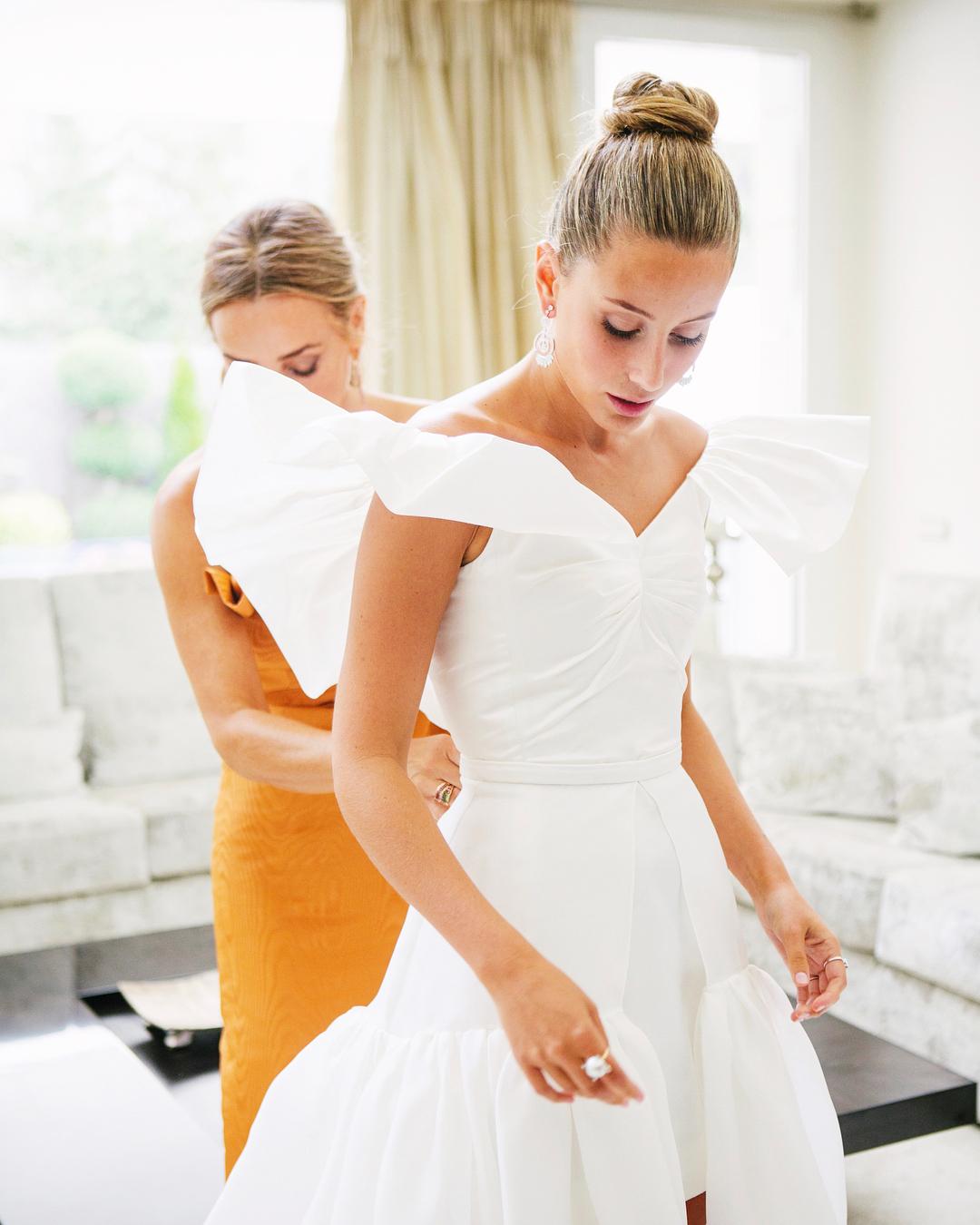El vestido de novia / Foto: @sofiaparamio