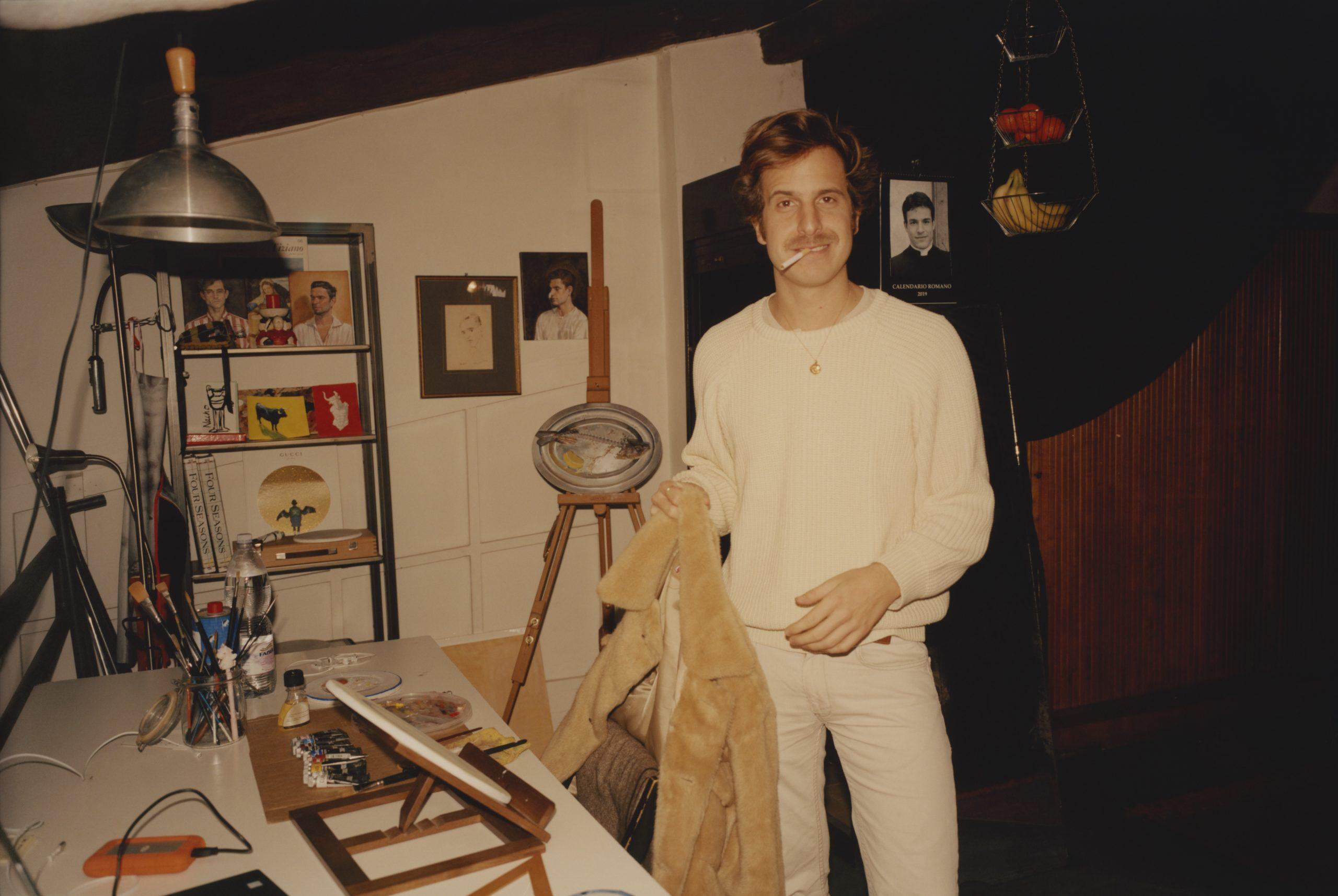 Ignasi Monreal en su estudio / Foto: Ignasi Monreal
