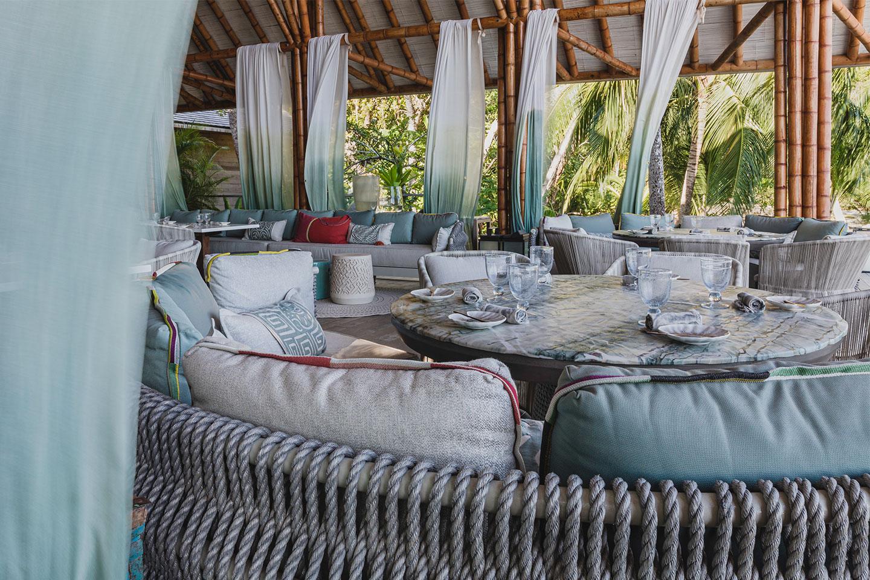 Lugar de la cena / Foto: Islas Secas